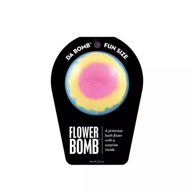 Da Bomb Stainless Fizzers Flower Bath Bomb w/ a Fun Surprise Inside, 3.5