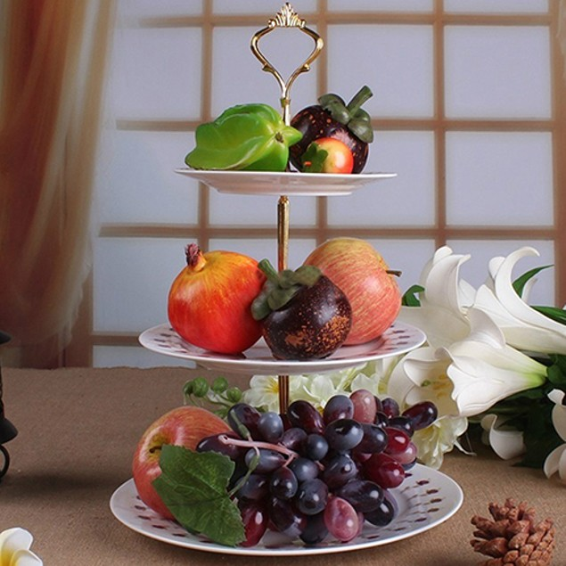 Multi-style Tier Cake Plate Stand Handle Fitting Hardware