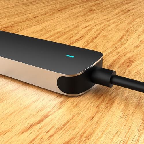USB C Hub, uni 4-in-1 USB C Adapter
