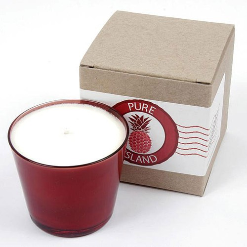 Pure Island Hawaiian PlumeriaWS Candle 8oz