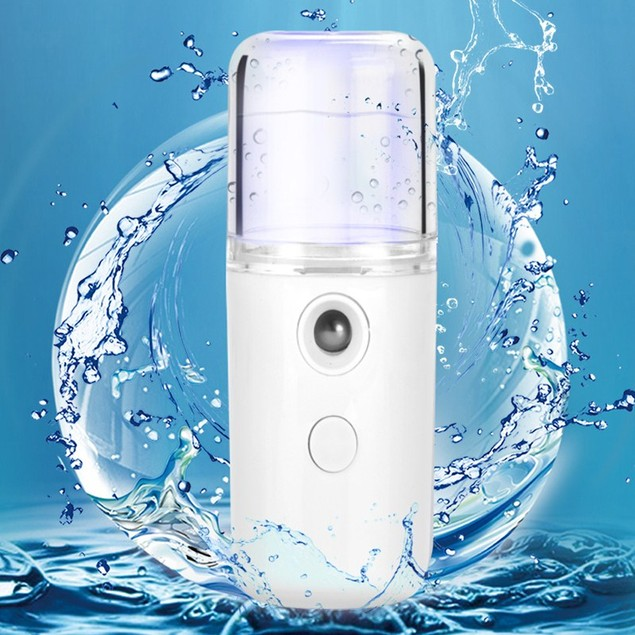 USB Rechargeable Nano Spray Handheld Facial Humidifier