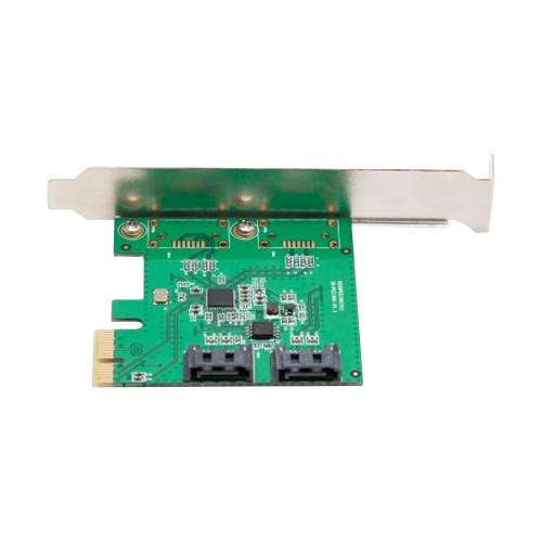 2 Port SATA III PCI-e 2.0 x1 RAID Controler Card