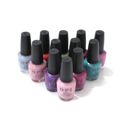 10-pack Opi Nail Lacquer Polish Mystery Deal