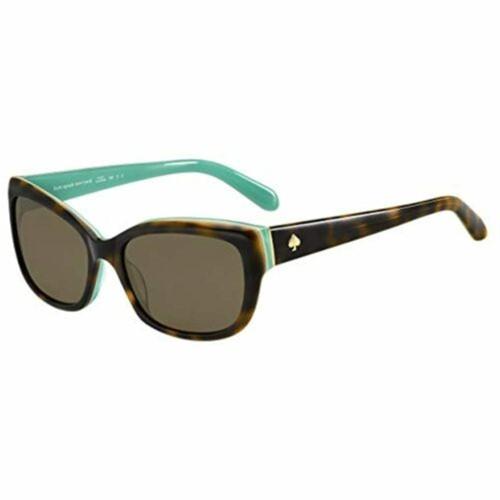 Kate Spade New York Sunglasses for Women Johanna/S Havana/Aqua Bronze Polarized