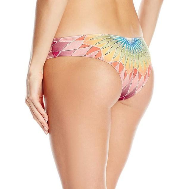 Billabong Women's Sunshine Daze Hawaii Lo Bikini Bottom, Multi, SZ  L