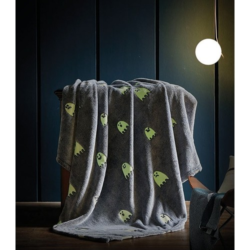 Glow in the dark Luxury Plush Glow Superbly soft Polyester Throw 4x5