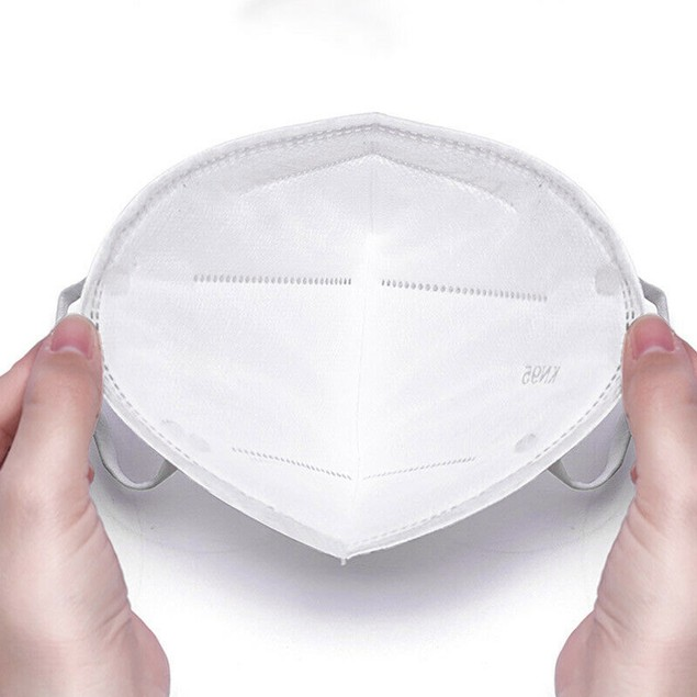 20-Pack: Disposable KN95 Face Masks