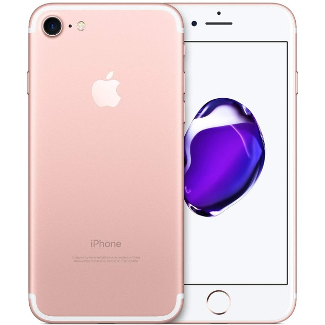 "Apple iPhone 7 128GB 4.7"" Verizon Unlocked, Rose Gold (Refurbished)"