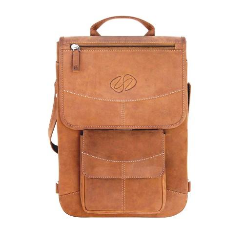 "MacCase Premium Leather 13"" MacBook Pro Flight Jacket w/BP - Vintage Brown"