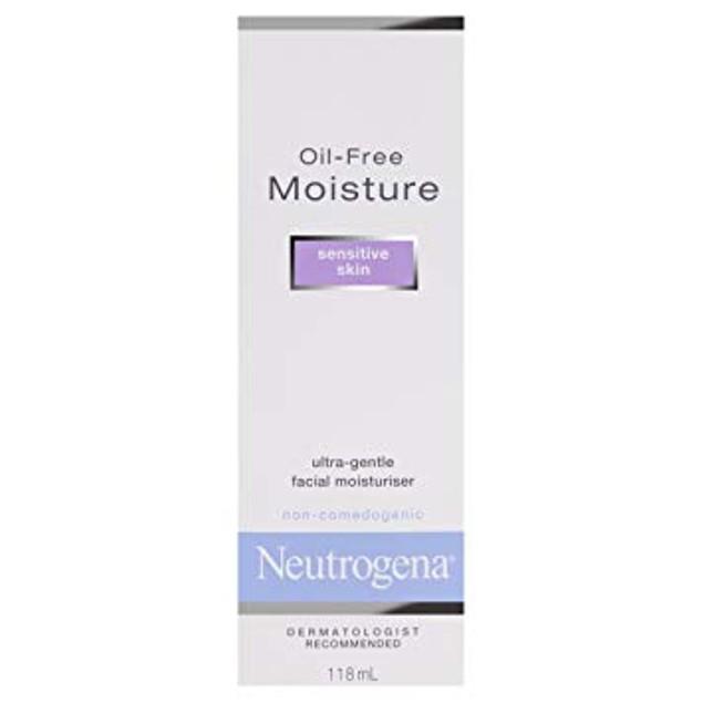Neutrogena Oil-Facial Moisturizer for Sensitive Skin