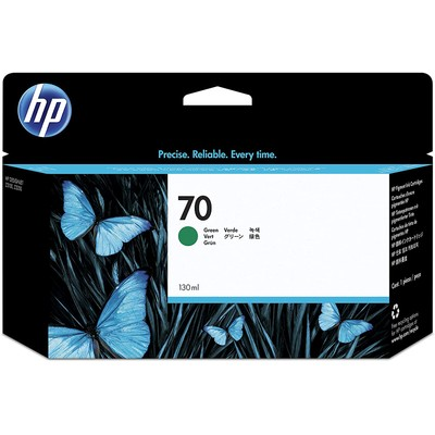 HP 70 Green C9457A 130 Ml Ink Cartridge Use In Hp Designjet Printer