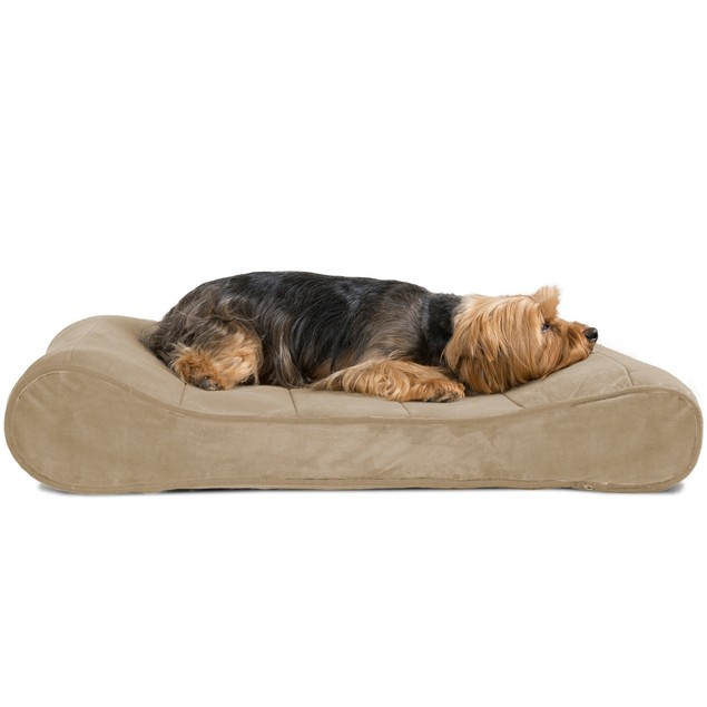 Microvelvet Luxe Lounger Orthopedic Pet Bed