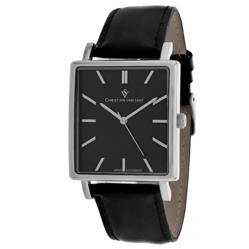 Christian Van Sant Men's Ace Black Dial Watch - CV0431