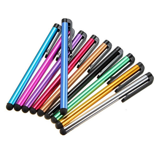 10 pack : Stylus assorted colors