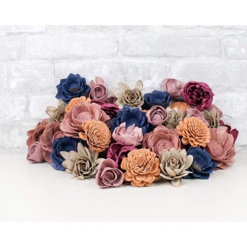 Sola Wood Flowers Its A Mood Assortment 25/50 Pack