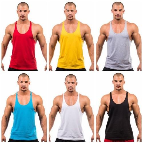 Men's Fitness Equipment Basic Bodybuilding Vest