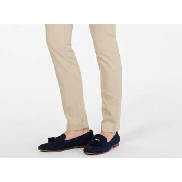 Charter Club Women's Petite Chelsea Stretch Twill Skinny Pants Beige Size 1