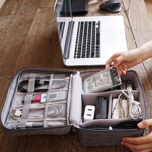 Tech Travel Bag Organizer