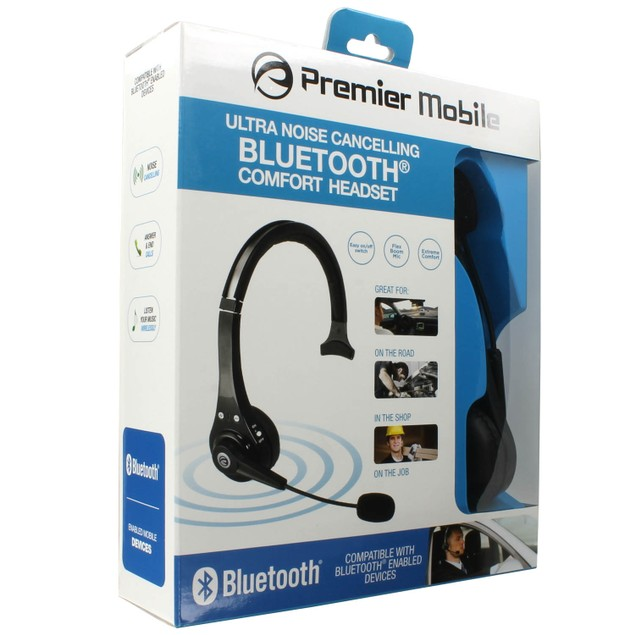 Noise Cancelling Bluetooth Comfort Headset