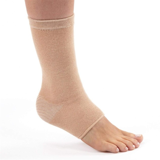 FLA Orthopedics Therall Four Way Stretch Joint Warming Ankle Support, XL,