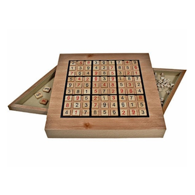 Sudoku Wooden Set Game, More Games by Go! Games