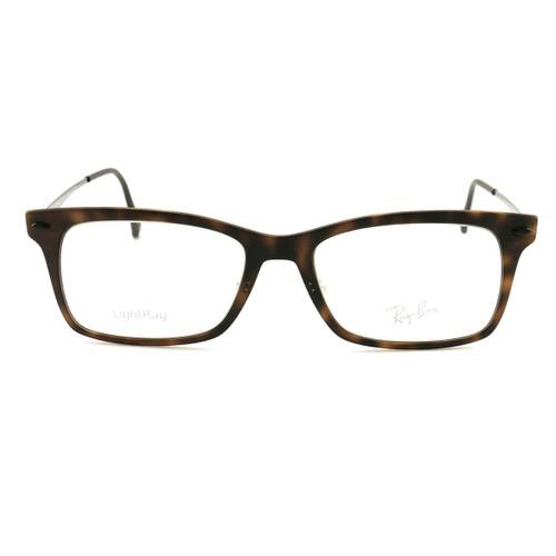 Ray Ban Men Eyeglasses RX7039 5200 Havana CaRXon Fiber 53 18 140  Ligth Ray