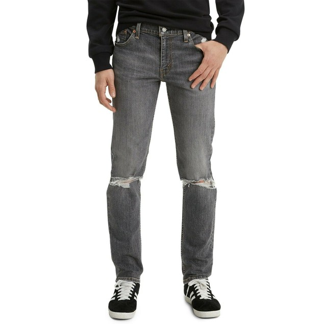 Levi's Men's 511 Slim Fit Rip And Repair Jeans blue Size 33x30
