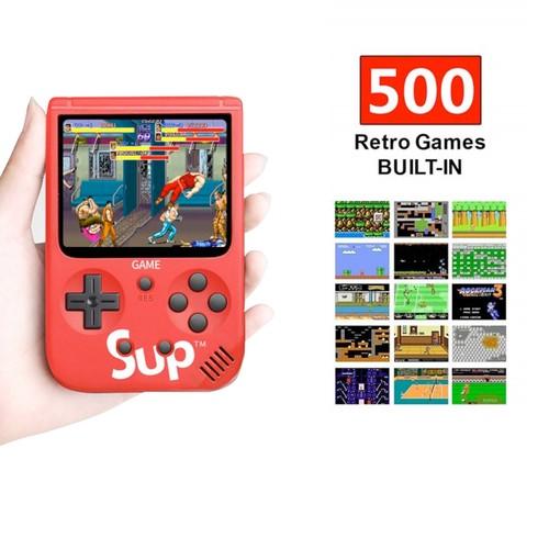 Zummy 500 Retro Classic Handheld Video Games Consoles