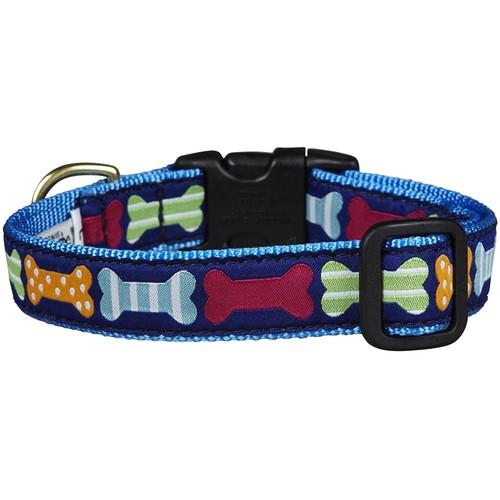 Up Country Big Bones Dog 1 Wide Collar - Medium (12-18)