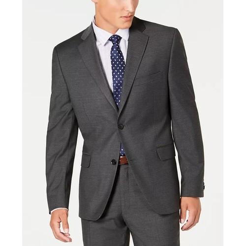 Alfani Red Men's Suit Separate Jacket Grey Size 42 T/L