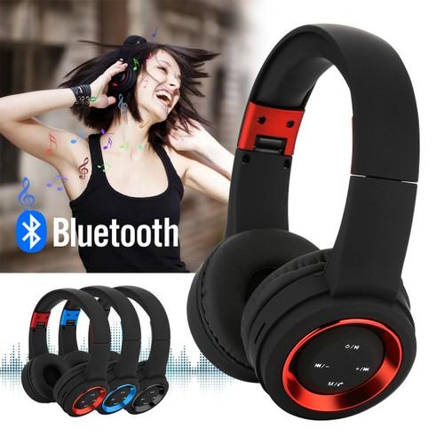 Bluetooth Headset Wireless Hi-Fi Stereo Foldable Headphones Earphones