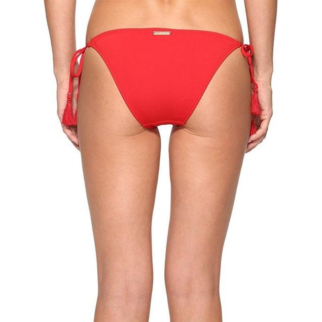 MICHAEL Michael Kors Women's Villa Del Mar Euro String Bikini Bottom S