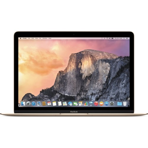 "Apple MacBook MK4N2LL/A 12"" 480GB,Gold(Certified Refurbished)"