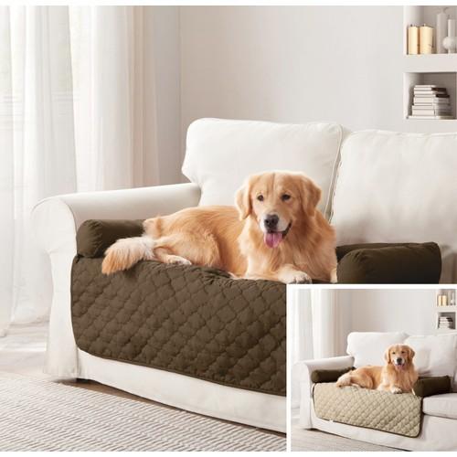 Reversible Pet Bed & Furniture Protector