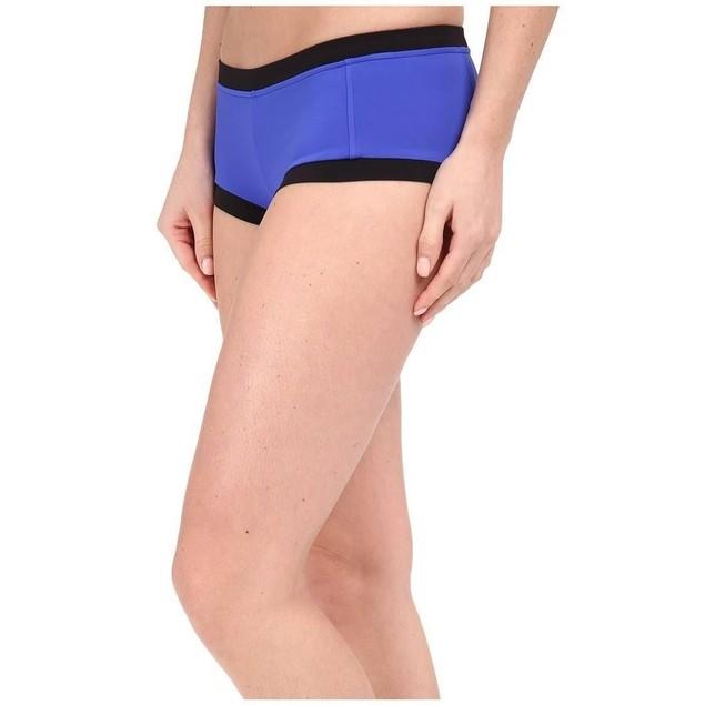 Seafolly Block Party Boyleg Women's Swimwear Blue Ray SZ: 6