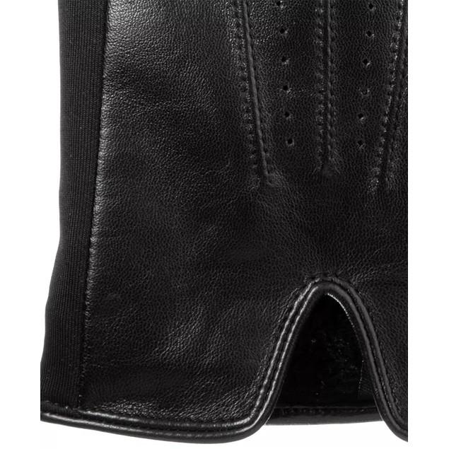 Isotoner Signature Men's Stretch Leather Gloves Black Size Medium
