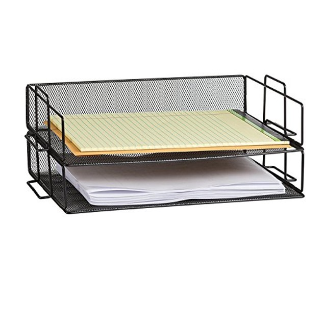 Storageaid  OM214 2 Tier Stackable Letter Tray