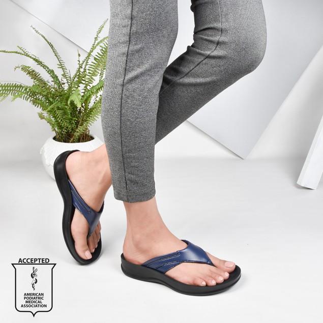 AEROTHOTIC Algiz Women's Flip Flops with Arch Support
