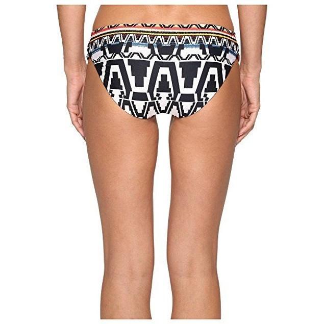 Becca by Rebecca Virtue Women's Tab Side Hipster Bikini Bottom Sz: L