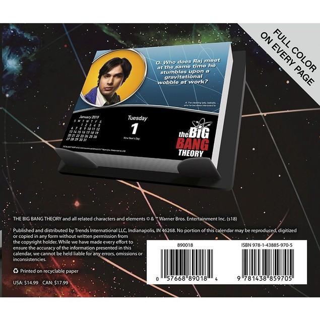 Big Bang Theory Desk Calendar, Comedy TV by Calendars