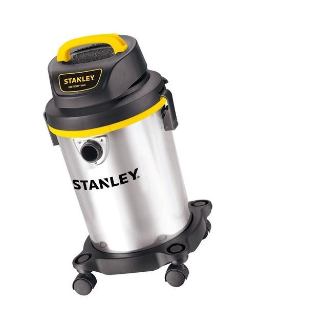 Dry Vacuum, 4 Gallon, 4 Horsepower, Stainless Steel Tank