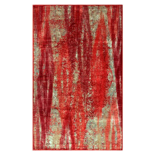 Brayton Area Rug, Artistic, Abstract, Non-Slip, Foam Backing, Modern