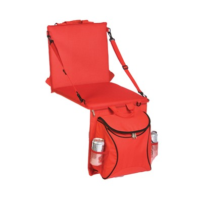 Picnic Plus Stadium Seat Cooler Red