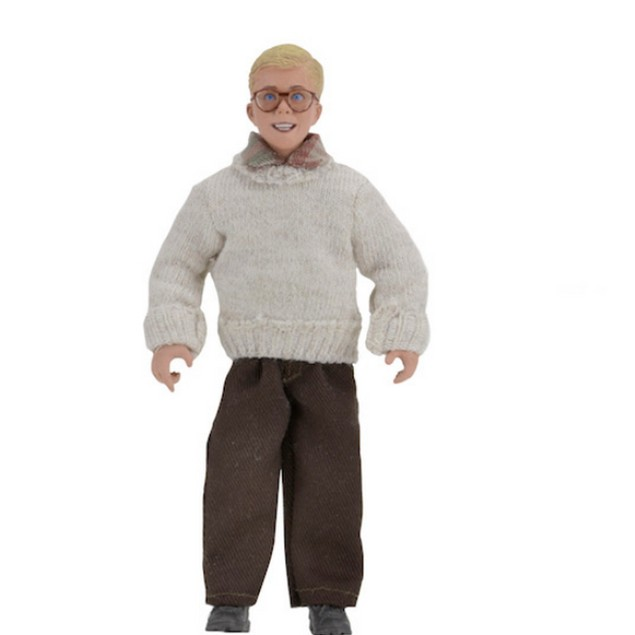 Ralphie A Christmas Story 8 in Clothed Action Figure Movie Gift X-Mas
