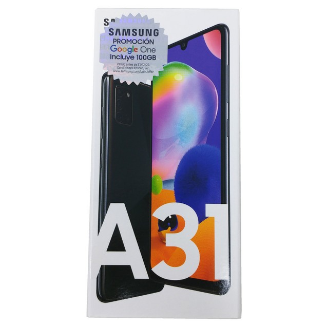 "Samsung Galaxy A31 A315G 64GB 6.4"" 4GB RAM GSM Phone - Prism Crush Black"