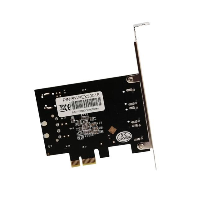 2 Port Firewire 1394B & 1 Port 1394A PCI-e 1.1 x1 Card