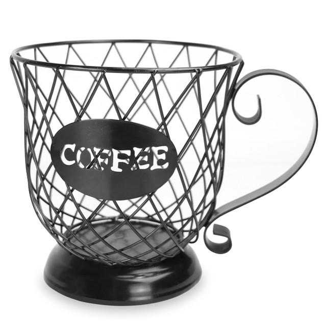 Coffee Mug Storage Basket | MandW