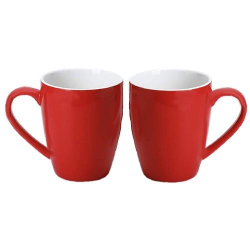 Homvare Porcelain Coffee Mug for Both Hot and Cold Beverage, 10 oz