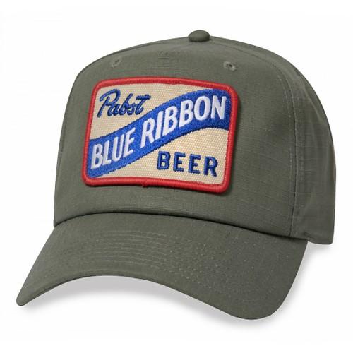 Pabst Blue Ribbon Beer Surplus Style Hat