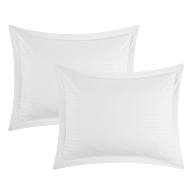 Chic Home 7 Piece Kanyetta Down Alternative Jacquard Striped Comforter Set